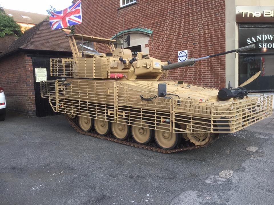 Tank and Military Vehicle Restoration service - Alvis Fighting Vehicle Society